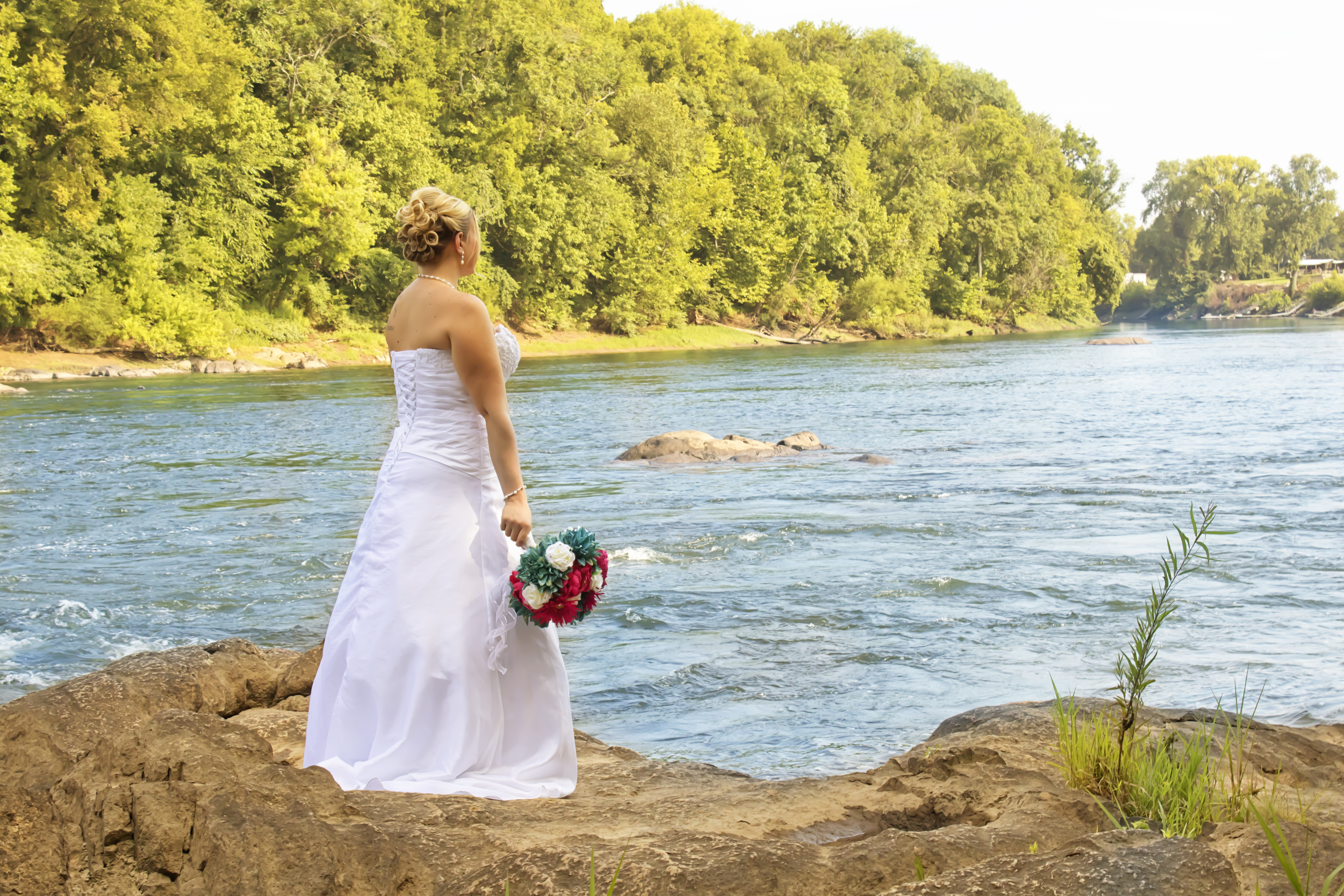 Amber Bridal River Overlook